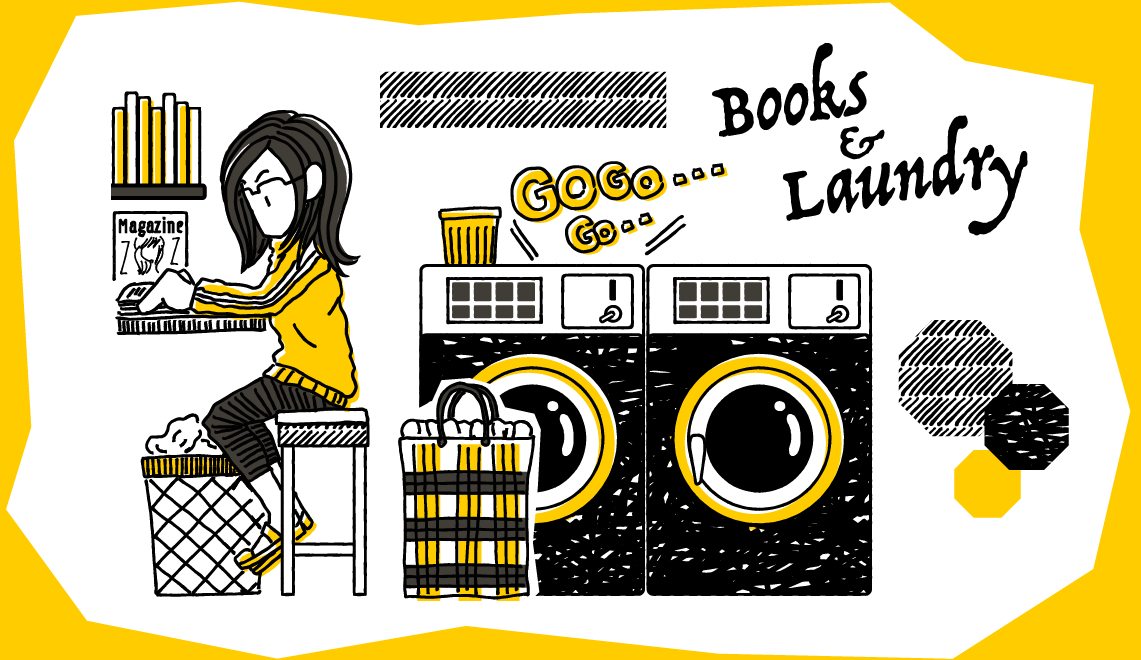 横浜石川町Books&Laundryイメージ1